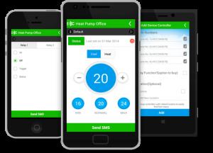 Styring af din varmpeumpe vha. app til smartphone