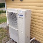 Luft-vand-varmepumpe - Panasonic Inverter
