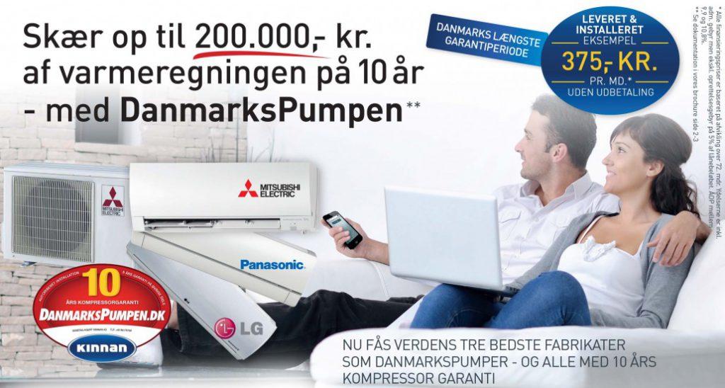 DanmarksPumpen - 10 års kompressorgaranti