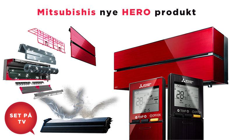 Få fingrene i den nye Mitsubishi HERO