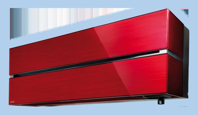 Denne flotte Rubin røde HERO fra Mitsubishi