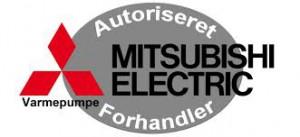 Auoriseret forhandler af Mitsubishi Electric-varmepumper