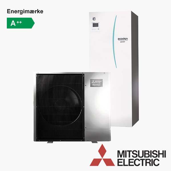 Mitsubishi Ecodan SILENT - Luft til vand varmepumpe