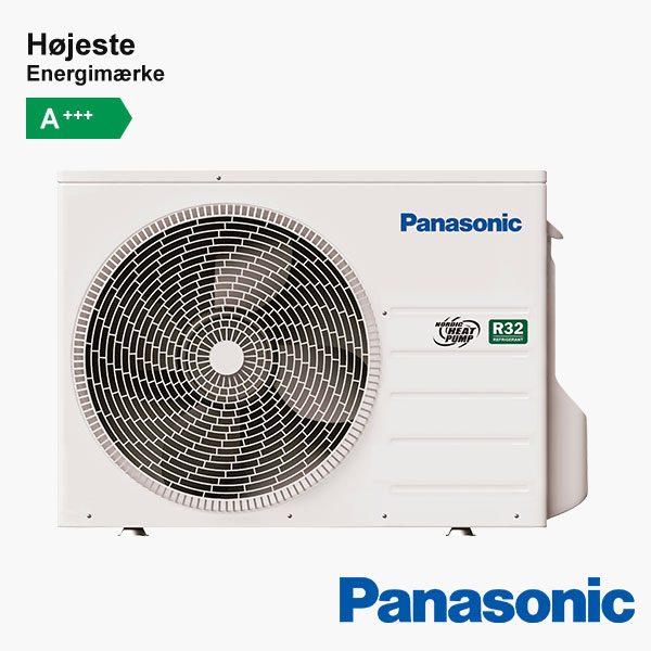 Panasonic CU-HZ25UKE varmepumpe udendørsenhed