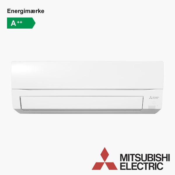 MSZ-SC Mitsubishi Compact Fighter - varmepumpe og aircondition til det skandinaviske klima