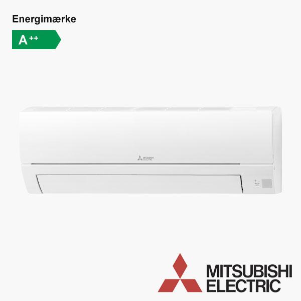 Mitsubishi MSZ-HR COOL - kombineret varmepumpe og aircondition