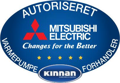 Autoriseret Mitsubishi Varmepumpe Forhandler