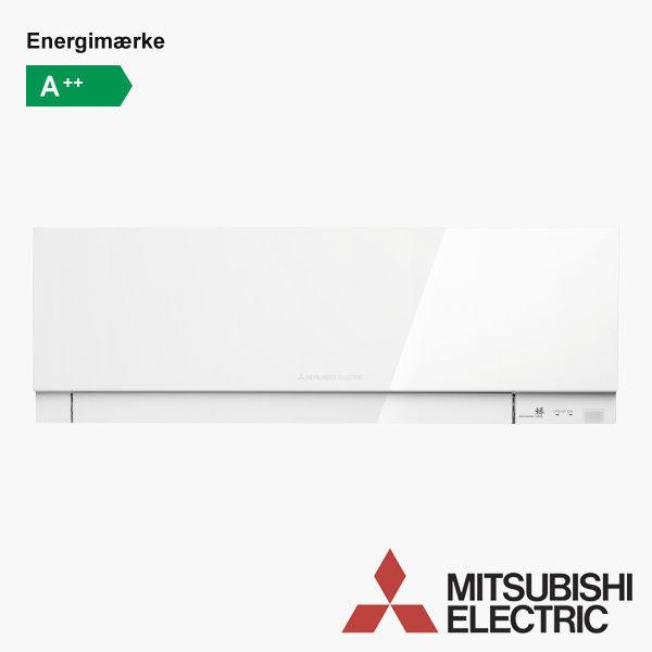 Varmepumpe Mitsubishi MSZ-EF25-VGK (hvid)