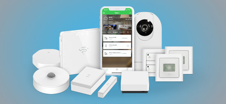 Wiser smart-home-system